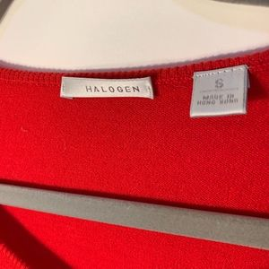 Halogen Sweaters - Halogen Professional Red Wool Sweater